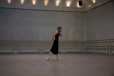 Rehearsal of Romeo & Juliet at the Royal Opera House
