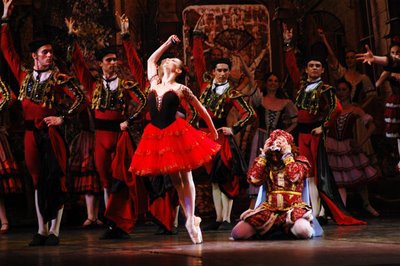 Don Quixote at the New Opera Ballet Theatre, Moscow