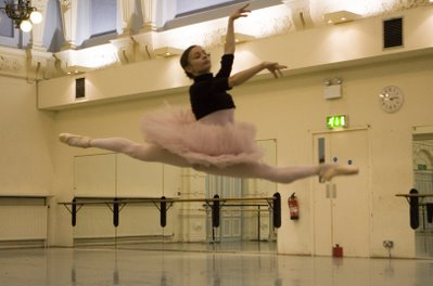 Rehearsal of Sleeping Beauty