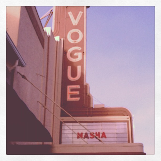 Masha screening at San Francisco's Vogue Theatre