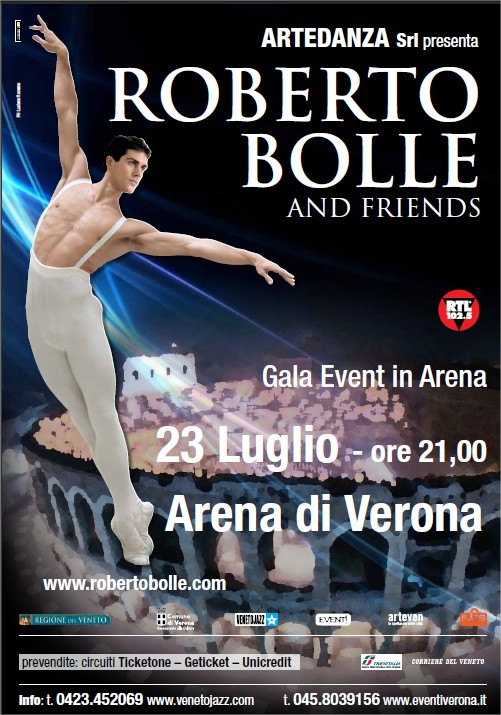 Poster for Roberto Bolle & Friends Gala