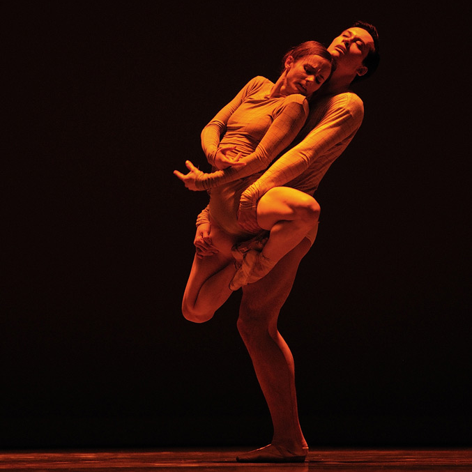 Maria Kochetkova and Lonnie Weeks in McGregor's Borderlands. ©Erik Tomasson