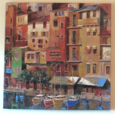 World Market Painting