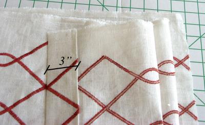 Sewing under Bottom Edge