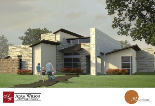 Render created by Adam Wilson Custom Homes