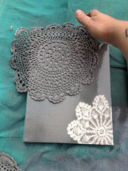 Painted Doily