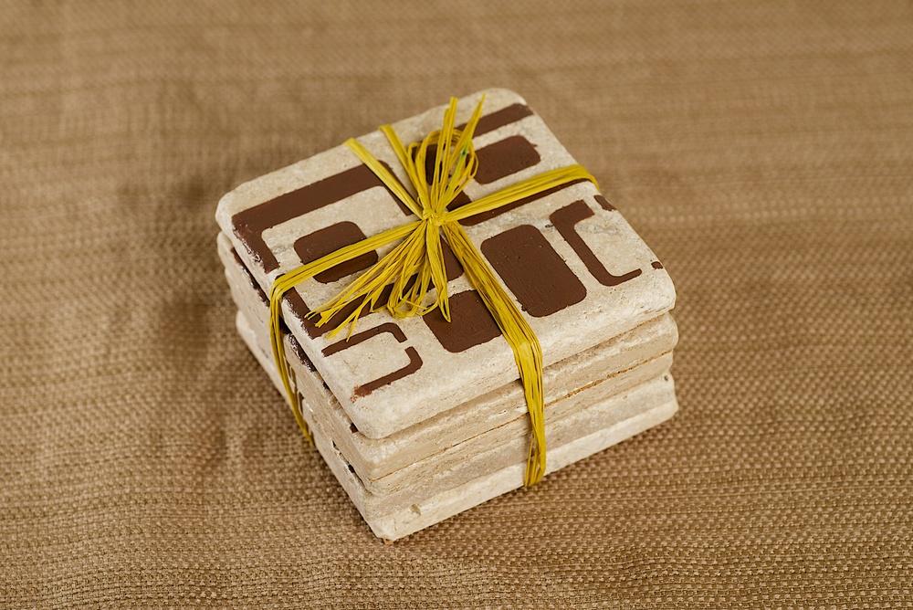 Sand Tile Coasters