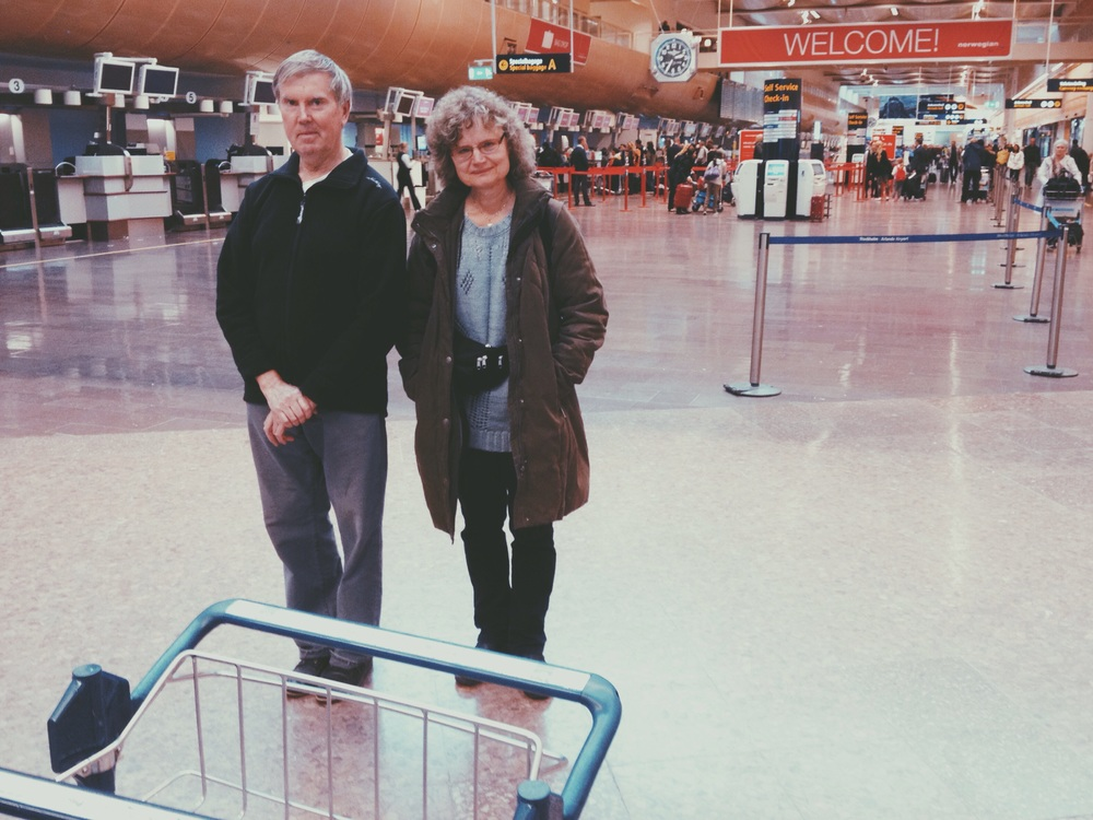My favourite people spotted at Arlanda. See you soon again!