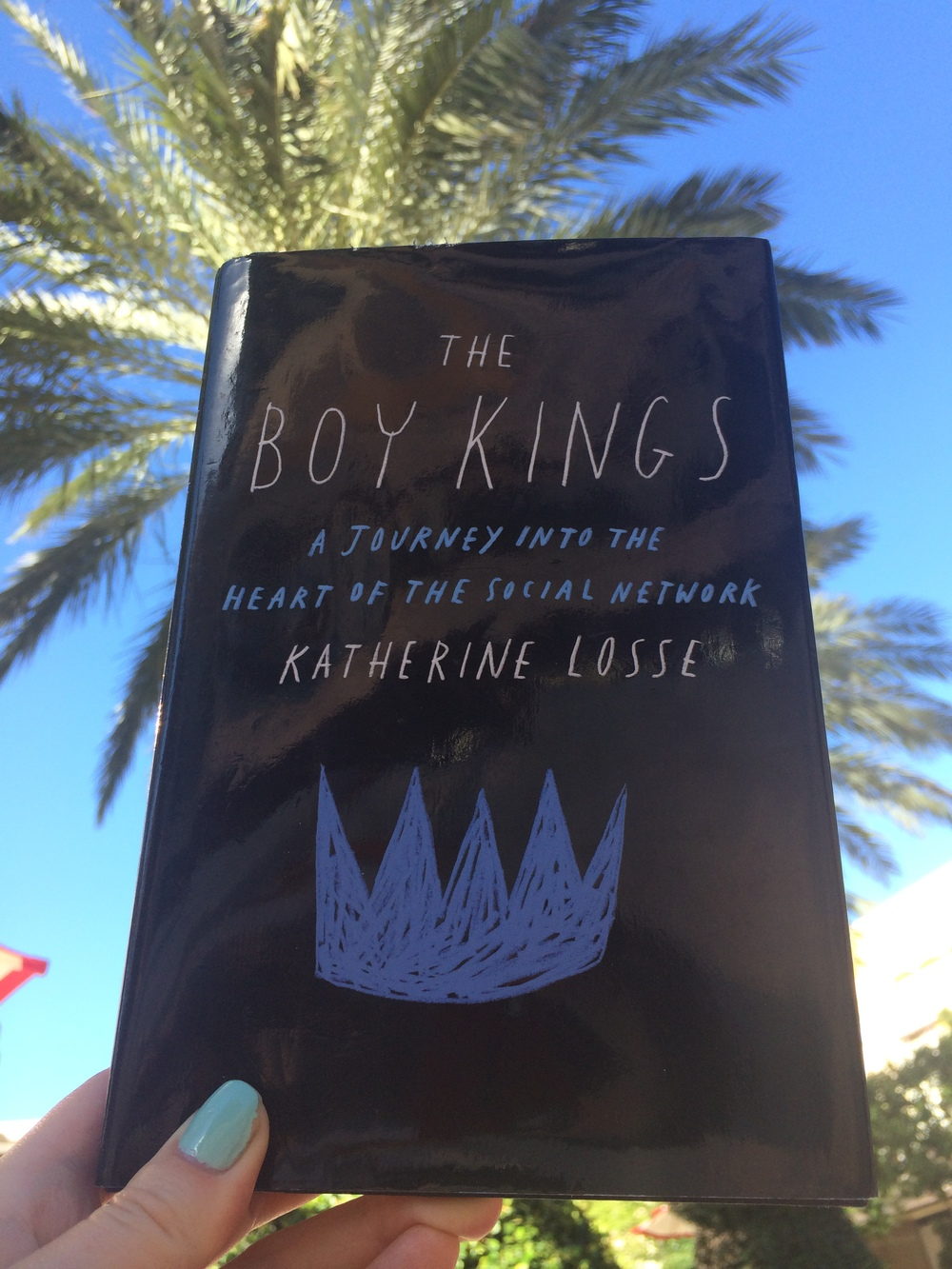 The Boy Kings  is about  building Facebook, working at a startup,  and living online.  💻💾