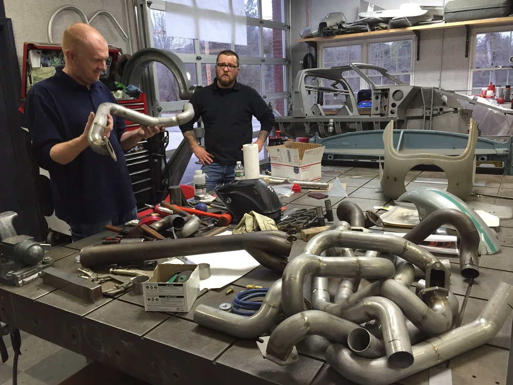 This doesn't happen very often: Mark is happy. Just look at that pile of gorgeous new headers. Well done, Ian.