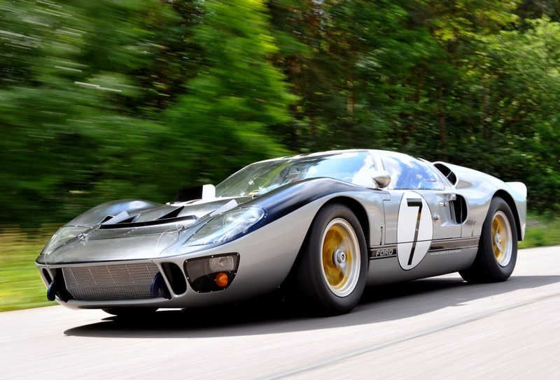1966 Mark II Ford GT-40 XGT-2