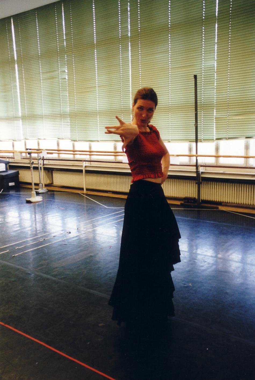 Viktoria Vizin Flamenco Practice