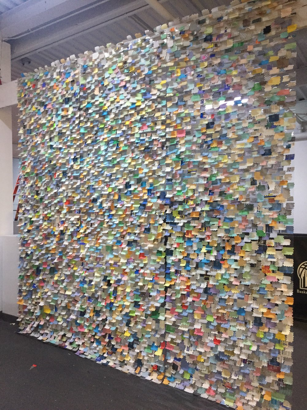 MokoMoko camouflage without windows. 12' x 10'.  20003