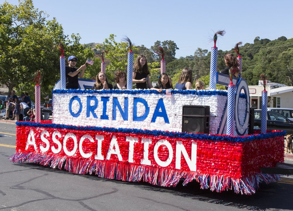 CELEBRATING 70 YEARS AS THE VOICE OF ORINDA!!