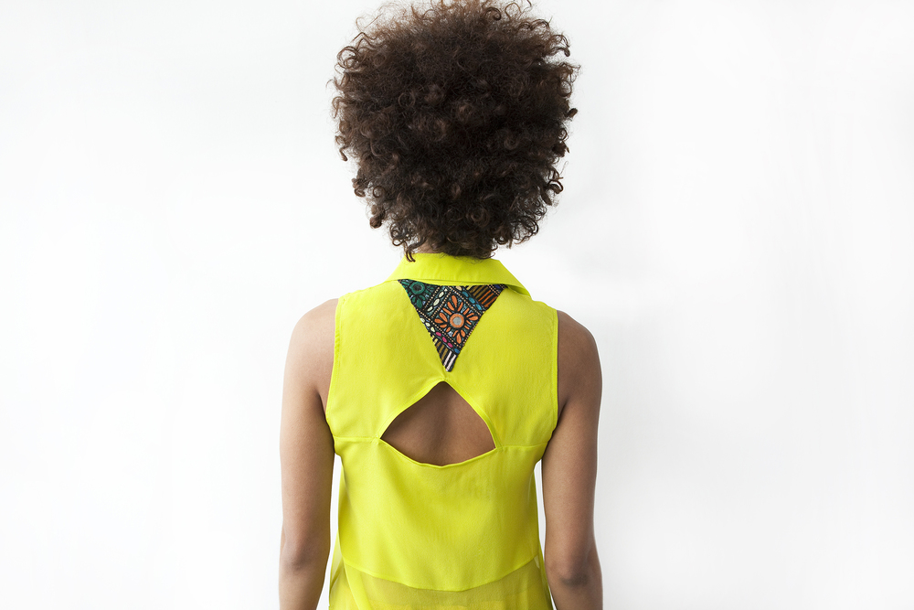 ​triangle-back blouse  SHOP NOW