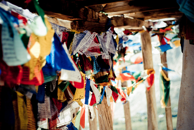 controlfilter: Prayer flags, Leh, India on Flickr.