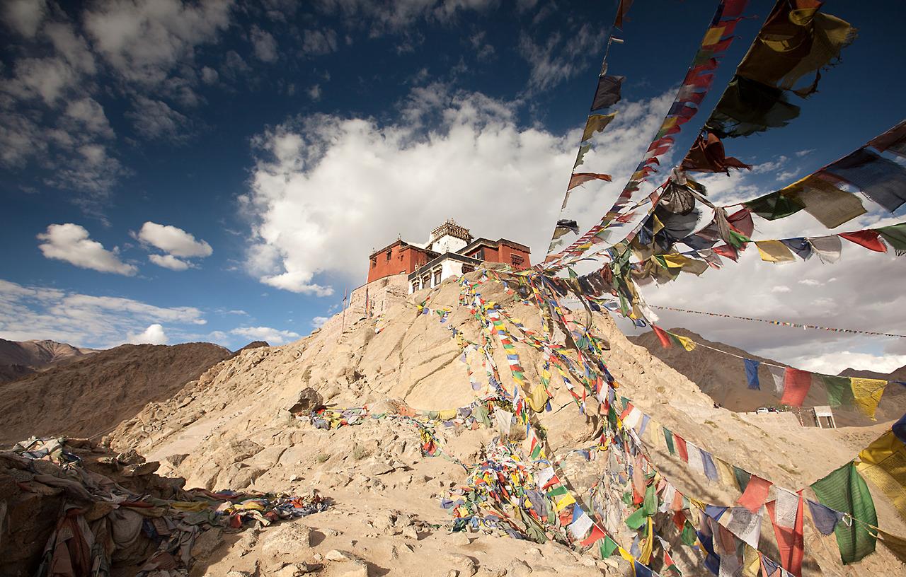 thetravelographer: Namgyal Tsemo Monastery,Leh Ladakh, India
