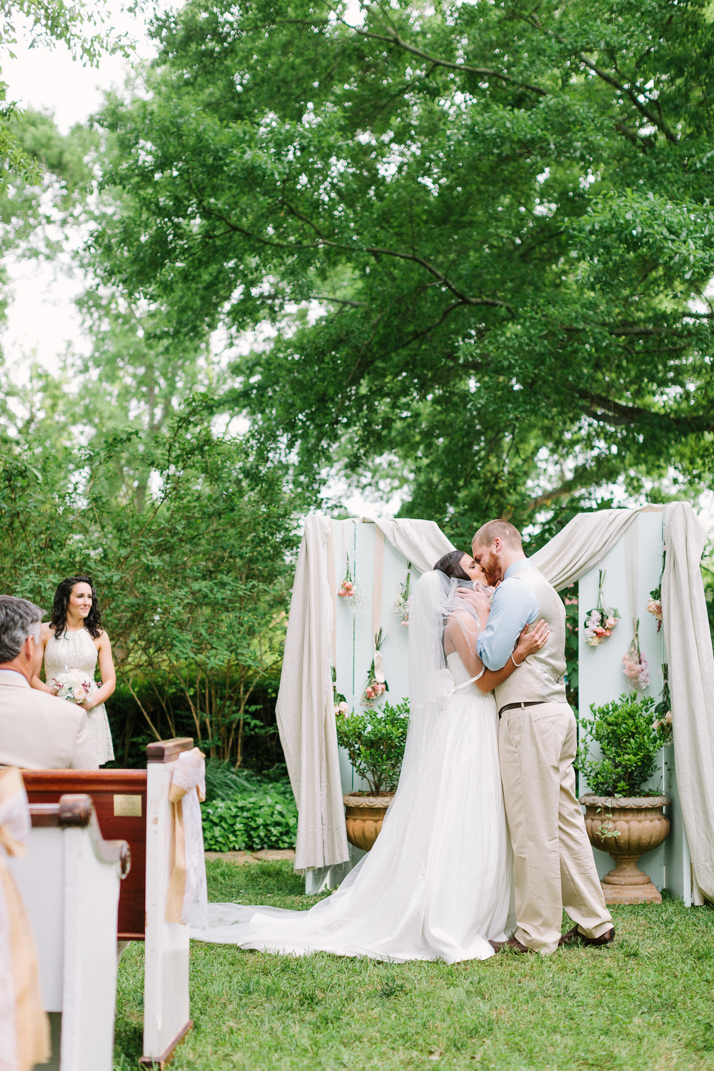 PEWS Wedding at Madison Oaks Inn - Photo by Haley Sheffield Photography