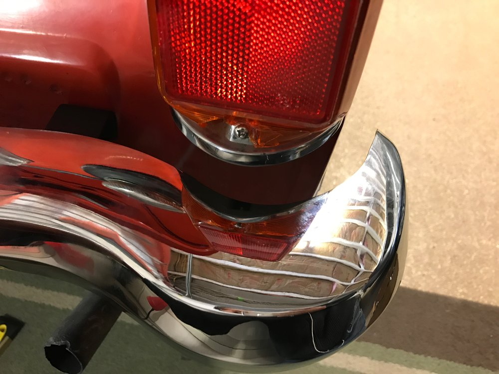 With no adjustment the curve of the bumper doesn't match the contour of the light.