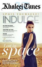 Khaleej Times - Indulge Magazine