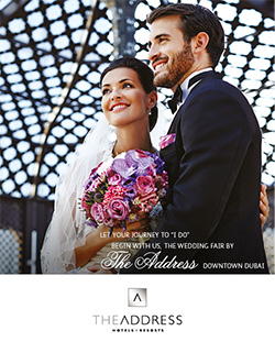 The 2014 Wedding Fair at The Address Downtown Dubai UAE