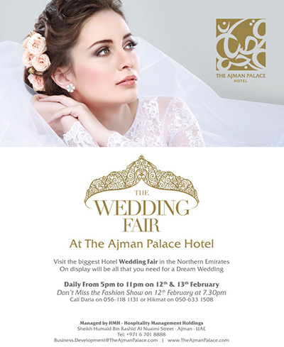 2015 The Ajman Palace Hotel Wedding Fair