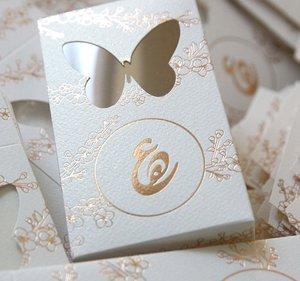 Design by louma unique luxury wedding invitations and stationery hala ali stopboris Image collections