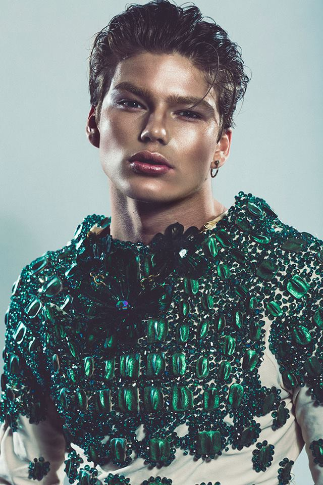 Jordan Barrett photographed by Thor Elias