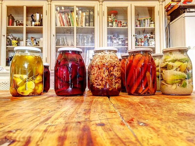 Pickling and salting. @lchristinadale