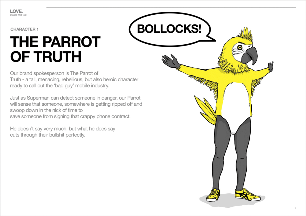 ... the Parrot of Truth ...