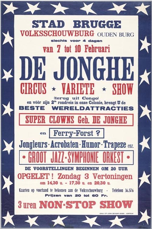 Circus De Jonghe, 1953
