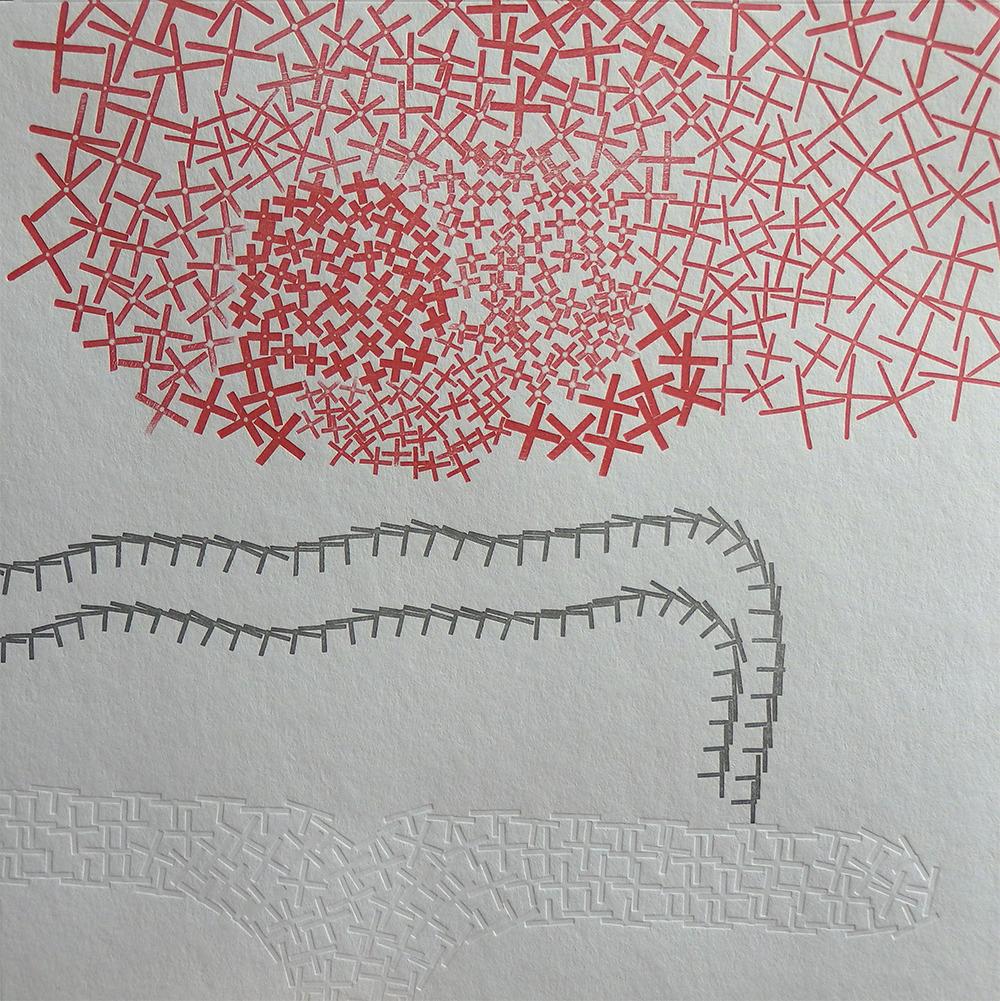 Baleine , 2016, letterpress