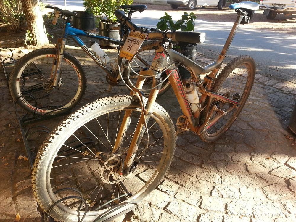chocolate dusted bike.....