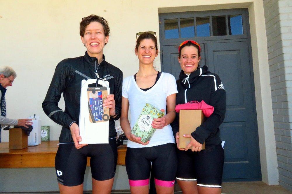 Pie Run 2018 - 76km GG Female Winners.jpg