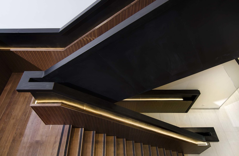 Feature Staircase Punchclock Metalworks