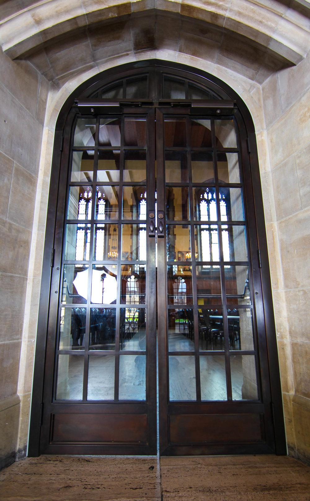 Historic Bronze Doors for UofT\u0027s Harthouse & Bronze Door \u2014 Punchclock Metalworks