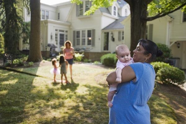 Boblin trabalhava para uma família que se mudou para New Jersey. Ela continou trabalhando para eles até que encontrassem uma nova babá.