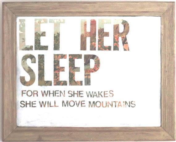 """Conselho para os maridões: """"Deixe ela dormir, quando ela acordar, vai mover montanhas!"""" (-se ela já faz tudo que faz cansada, imagina bem dormida :-) -"""