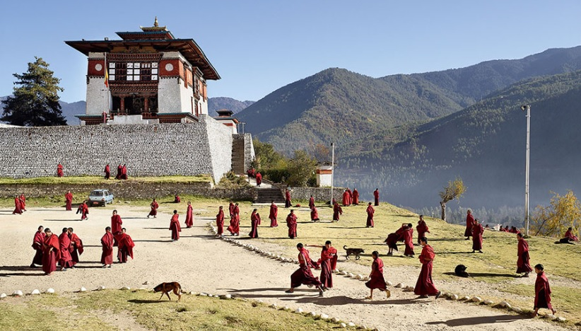 Thimphu, Bhutan — Dechen Phodrang (James Mollison)