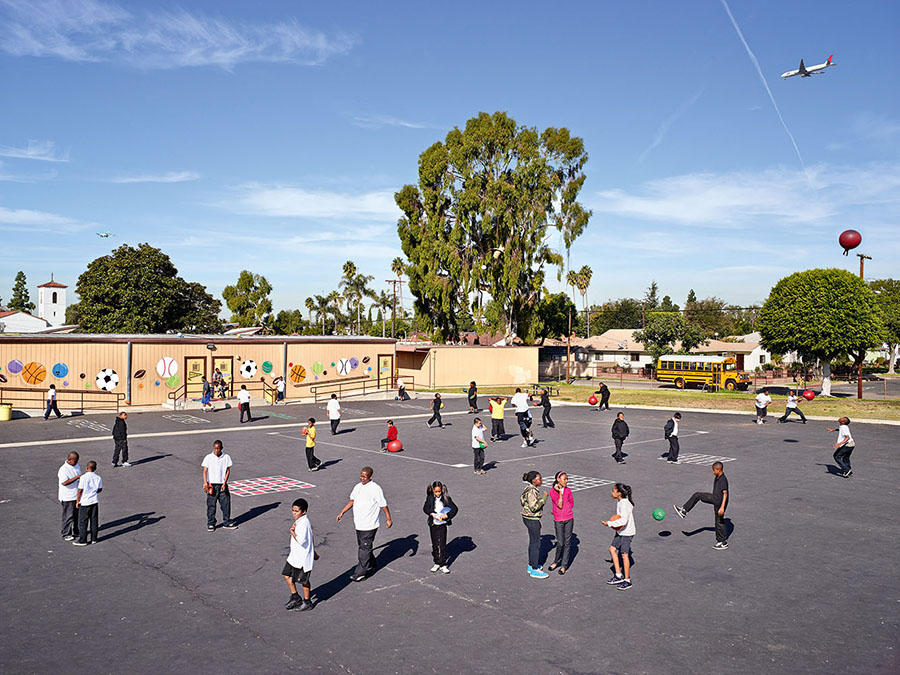 Warren Lane Elementary, Inglewood, California (James Mollison)