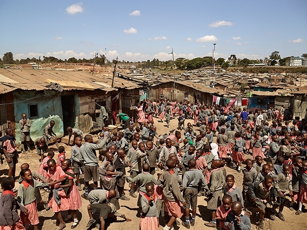 Valley View School, Mathare, Nairobi, Kenya (James Mollison)