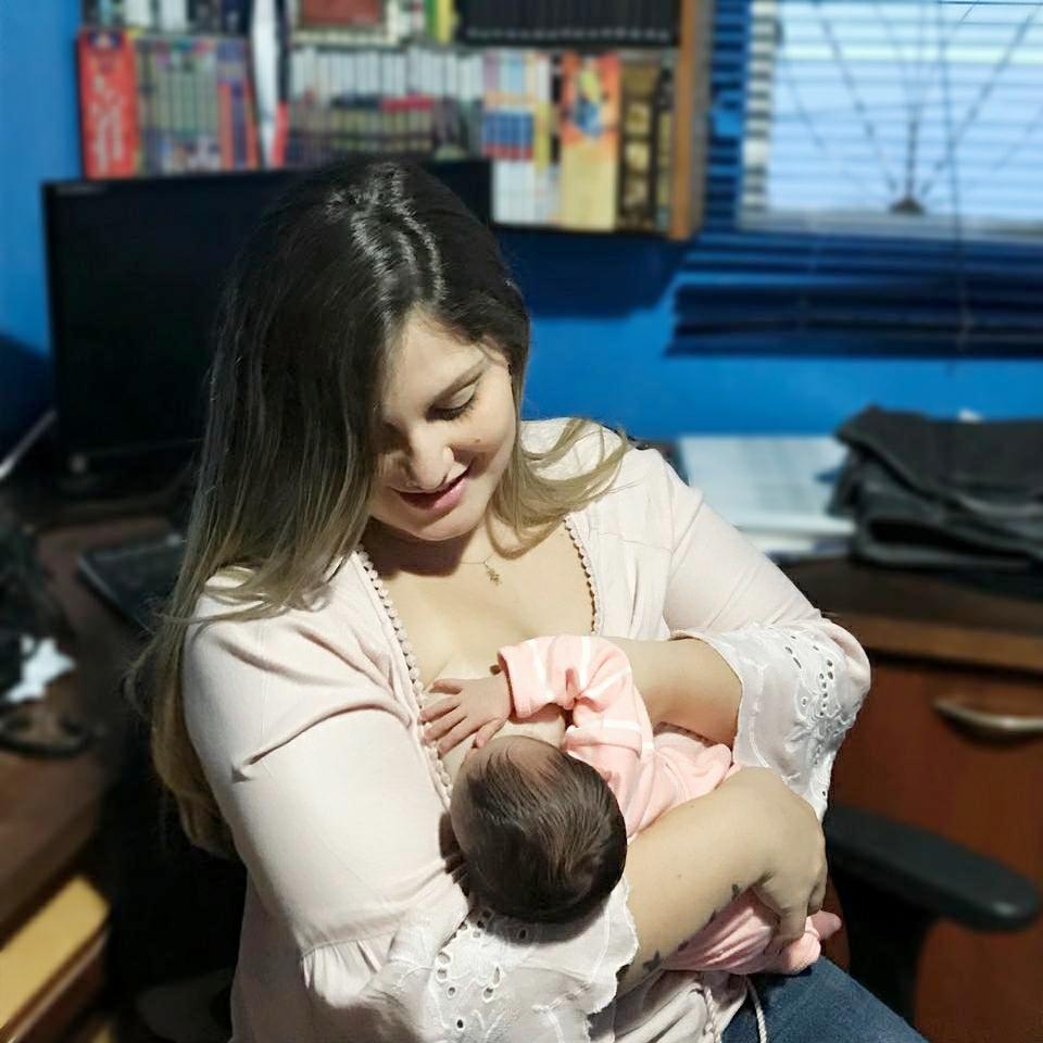 Marina e a filha (Arquivo Pessoal)