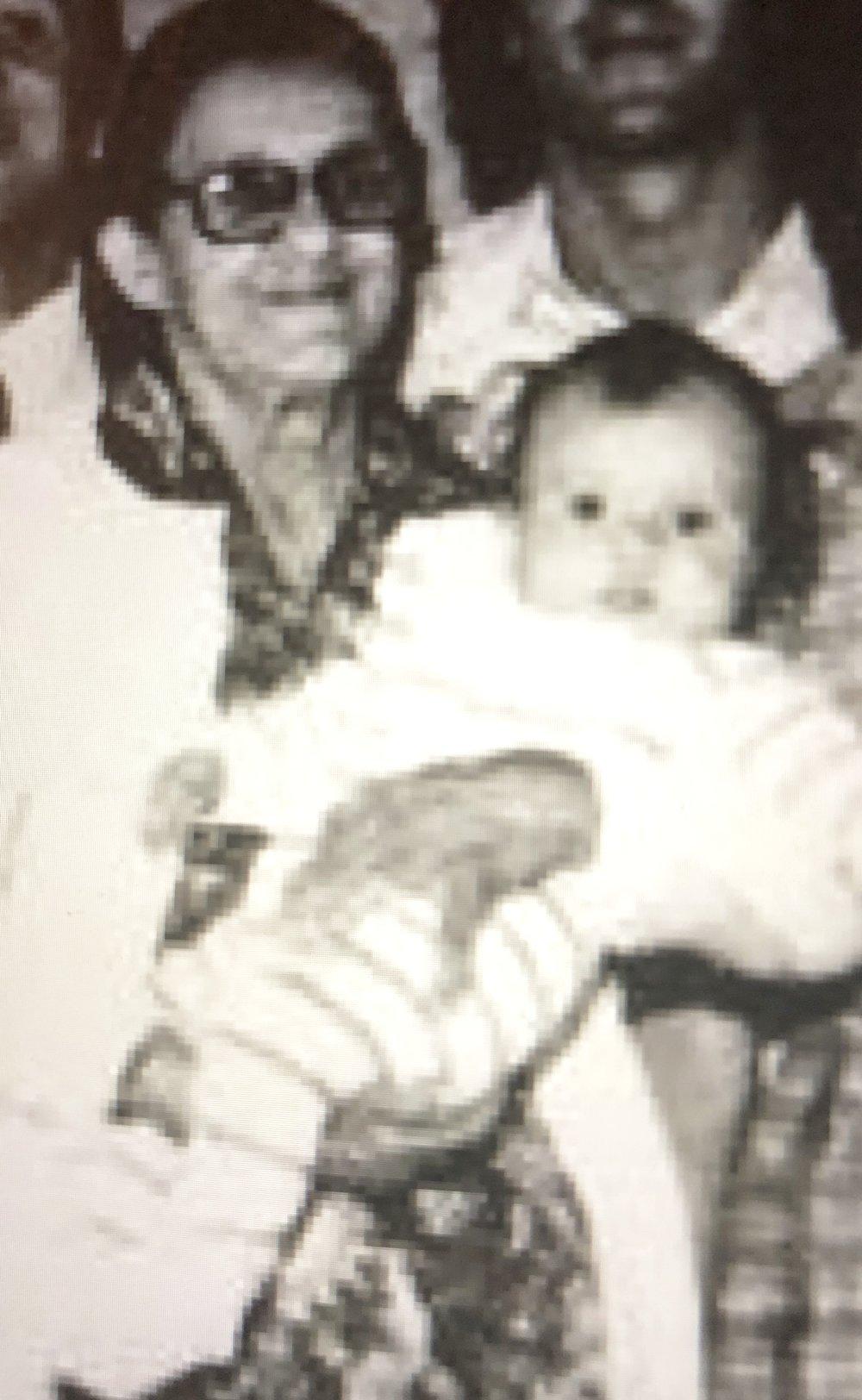 Minha bisavó e eu, em 1973, (Arquivo de Família)