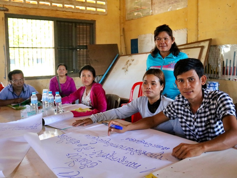 HEAL health advocates in Cambodia