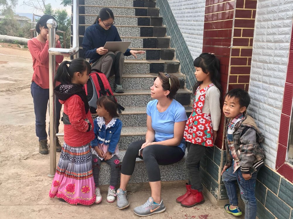 Concordia Shanghai teacher Jamie was a big hit with the kids