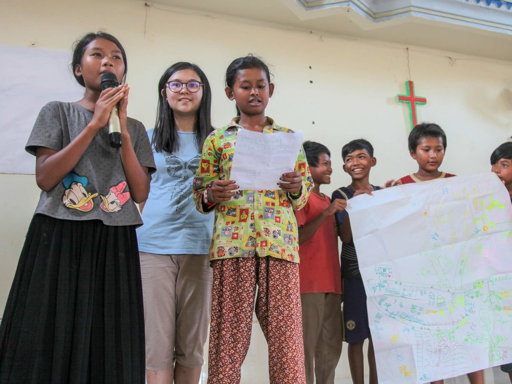 Students share how they can serve