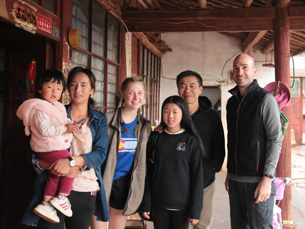 Home visits in Yunnan