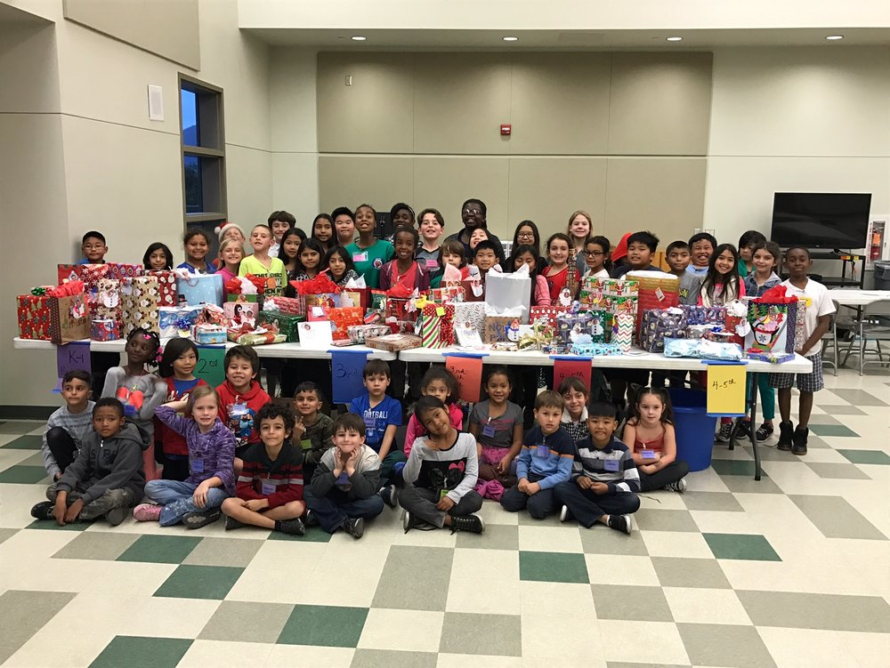 Angel Tree Gifts and Children