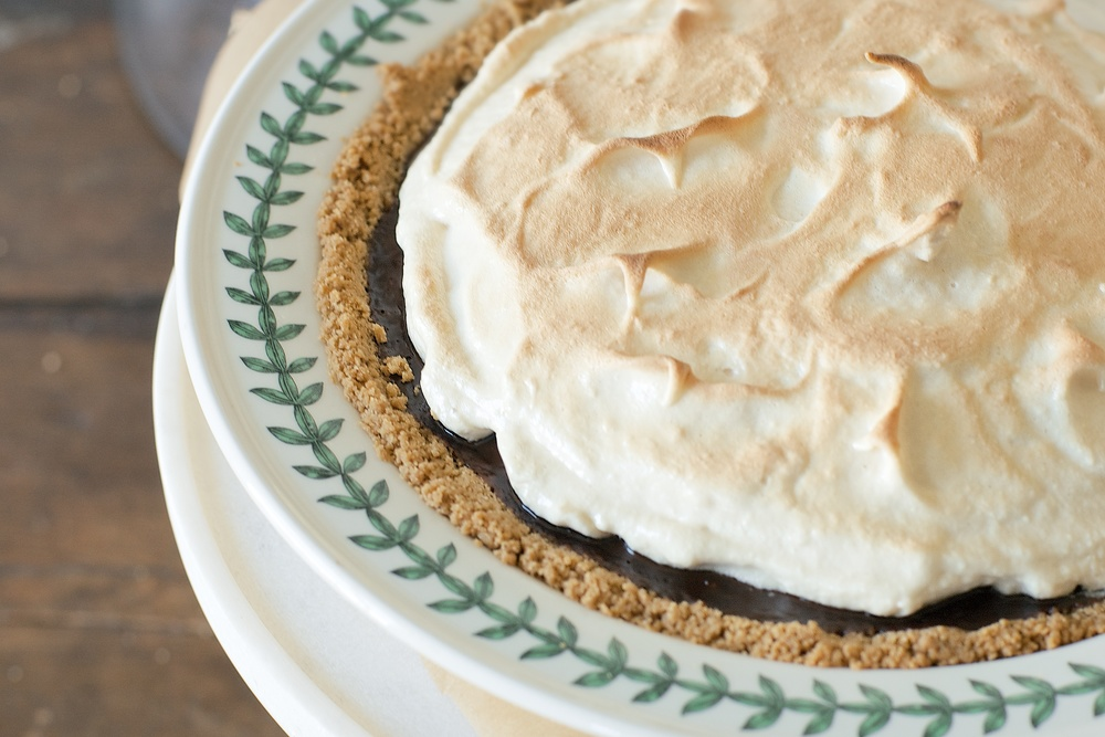 more pie w/ toasted marshmallow meringue — dolly and oatmeal
