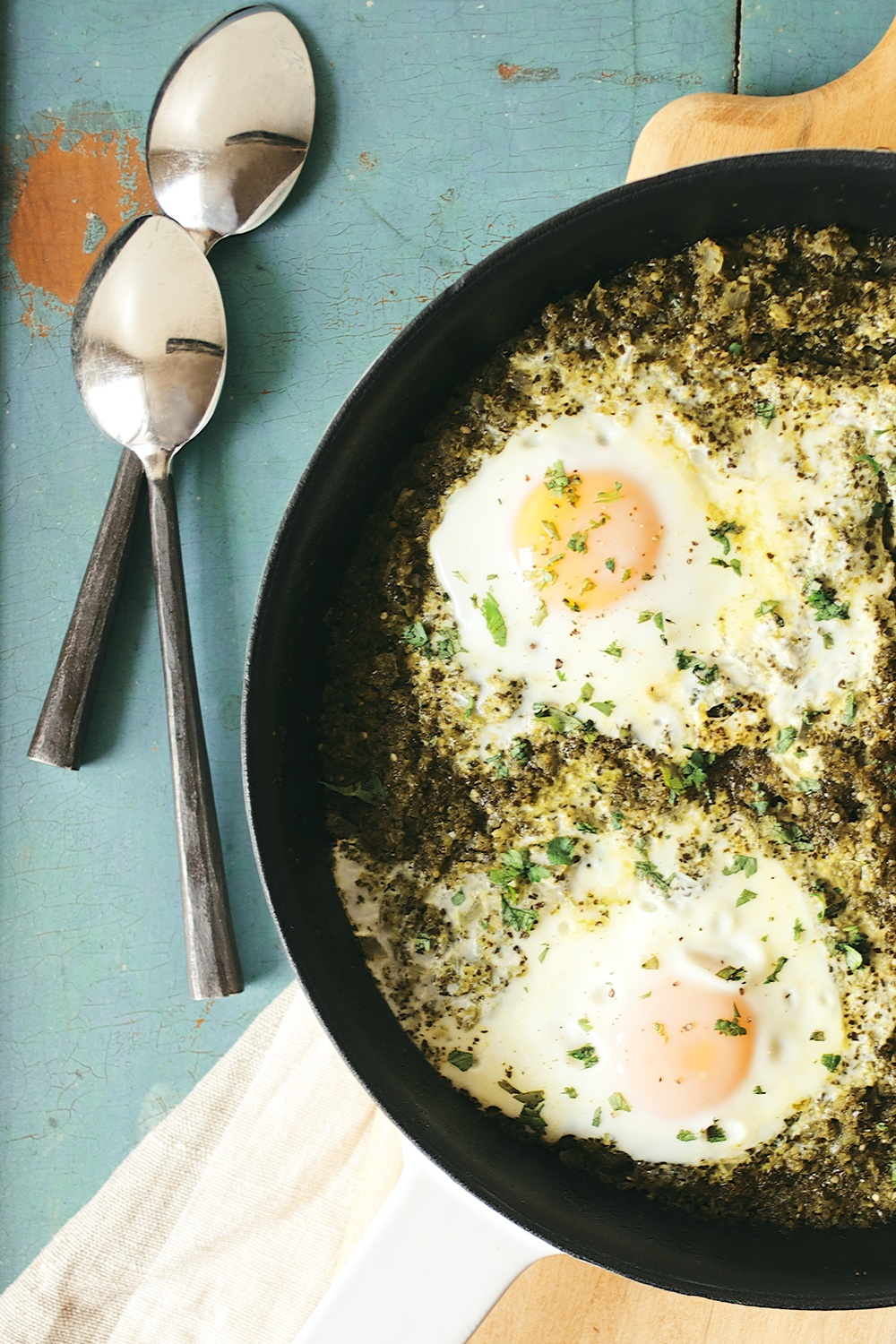 green shakshuka | dolly and oatmeal